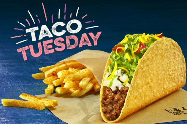 "Taco Bell a lansat ""Taco Tuesday"""
