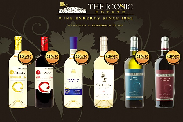 Vinurile The Iconic Estate, medaliate la International Wine and Spirit Competition 2020