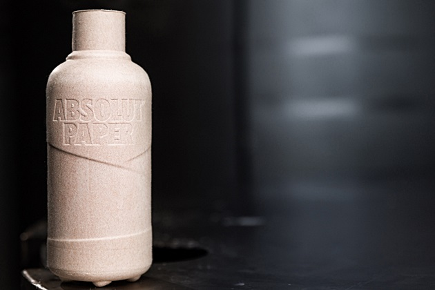 Vodka Absolut va trece la recipiente mixte din carton și plastic, 100 % reciclabile